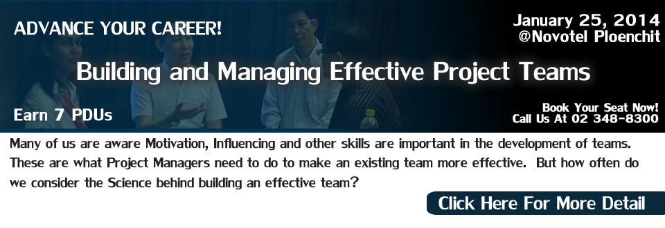 essay on managing effective teams