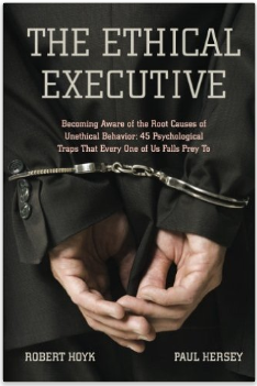 """Three copies of the """"Ethical Executive"""" will be given away"""