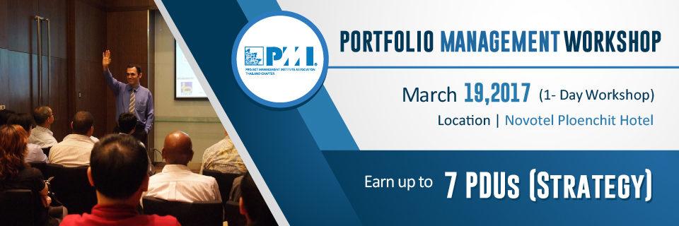 Project Portfolio Management 2017